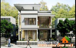 thiết kế biệt thự nhà phố 1 tầng