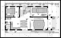 thiết kế biệt thự 2 tầng diện tích 120m2