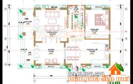 thiết kế biệt thự tân cổ điển 2 tầng 105m2